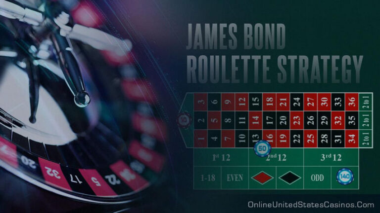 James Bond Strategy Explained – Roulette Betting System
